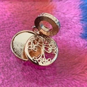 3/$12 Rose gold Tree of Life Charm